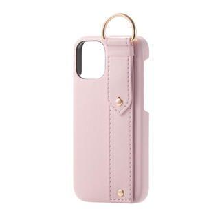 iPhone 12 mini (5.4インチ) ケース iPhoneケース レザー ベルト 落下防止 ストラップホルダー ローザ iPhone 12 mini