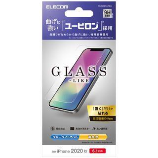 iPhone 12 / iPhone 12 Pro (6.1インチ) フィルム 保護強化ガラス 風 硬度9H 耐衝撃 ユーピロン 耐衝撃ユーピロン iPhone 12/iPhone 12 Pro