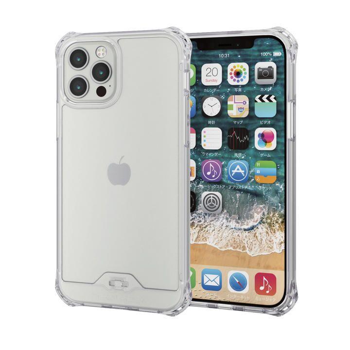iPhoneケース ゼロショック ZEROSHOCK 耐衝撃 クリア  iPhone 12/iPhone 12 Pro_0