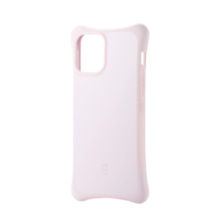 iPhoneケース 耐衝撃 自然な持ち心地 TPU 持ちやすい ピンク iPhone 12/iPhone 12 Pro_0