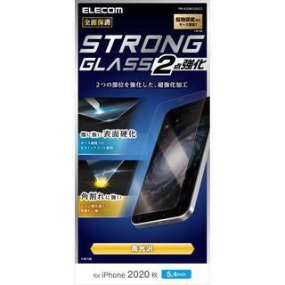 iPhone 12 mini (5.4インチ) フィルム 保護強化ガラス セラミックコート モース硬度7 0.33mm 角割れに強い iPhone 12 mini