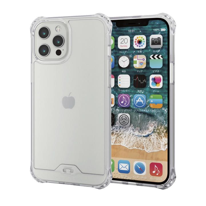 iPhoneケース ゼロショック ZEROSHOCK 耐衝撃 クリア  iPhone 12 Pro Max【10月下旬】_0
