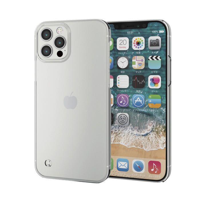 iPhoneケース シェルケース ポリカーボネート 薄型 ストラップホール  iPhone 12/iPhone 12 Pro_0