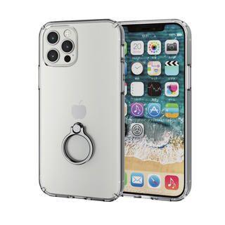 iPhone 12 / iPhone 12 Pro (6.1インチ) ケース iPhoneケース 耐衝撃 ポリカーボネート TPU ハイブリッド シルバー iPhone 12/iPhone 12 Pro