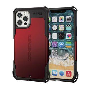 iPhone 12 / iPhone 12 Pro (6.1インチ) ケース iPhoneケース ゼロショック ZEROSHOCK 耐衝撃 TPU レッド iPhone 12/iPhone 12 Pro