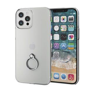 iPhone 12 Pro Max (6.7インチ) ケース iPhoneケース シェルケース ポリカーボネート 薄型 シルバー iPhone 12 Pro Max