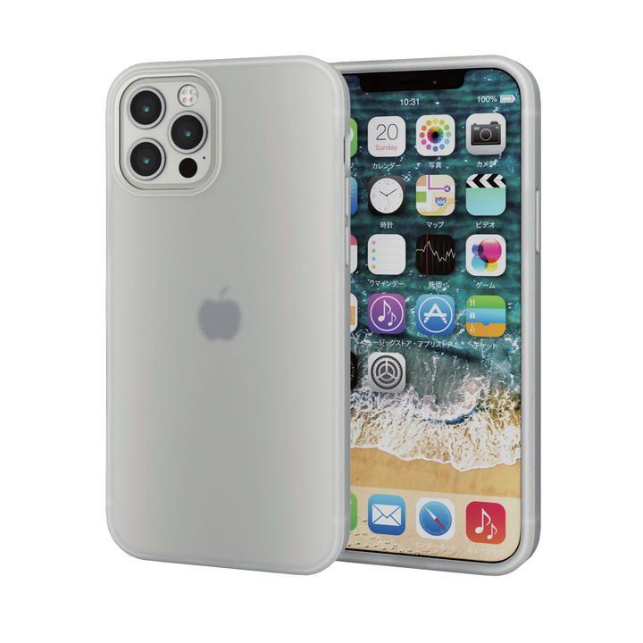 iPhoneケース シリコンケース 持ちやすい クリア iPhone 12/iPhone 12 Pro_0
