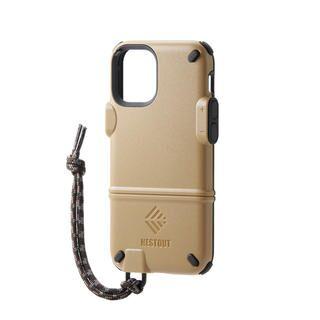 iPhone 12 mini (5.4インチ) ケース iPhoneケース NESTOUT トレッキング 登山 アウトドア コヨーテブラウン iPhone 12 mini