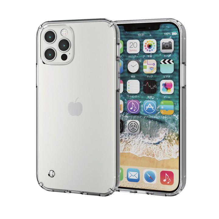 iPhoneケース 耐衝撃 ポリカーボネート TPU クリア iPhone 12/iPhone 12 Pro_0