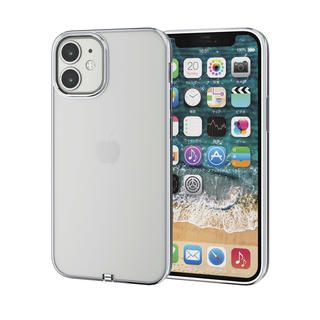 iPhone 12 mini (5.4インチ) ケース iPhoneケース サイドカラー 耐衝撃 TPU 背面 シルバー iPhone 12 mini