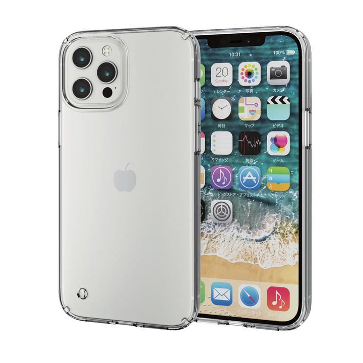 iPhoneケース 耐衝撃 ポリカーボネート TPU クリア iPhone 12 Pro Max_0