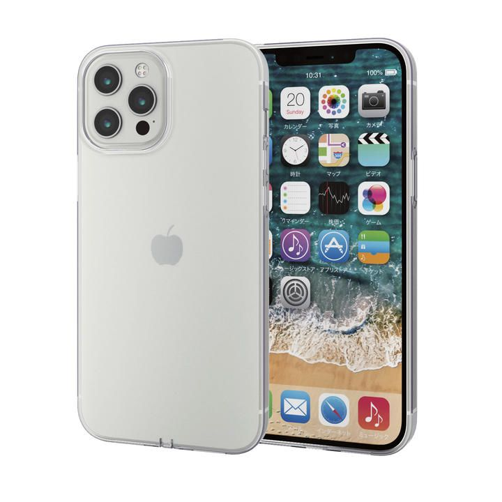 iPhoneケース 耐衝撃 TPU マイクロドット加工  iPhone 12 Pro Max_0