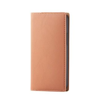 iPhone 12 mini (5.4インチ) ケース iPhoneケース 手帳 フラップ レザー PUレザー オレンジスカッシュ iPhone 12 mini