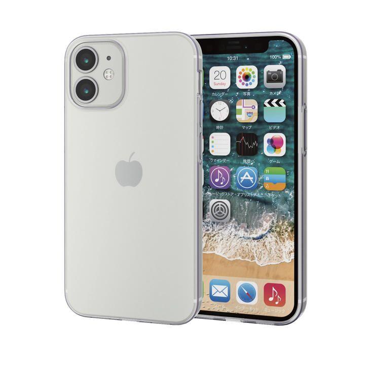 iPhoneケース 耐衝撃 TPU FORTIMO(R) クリア  iPhone 12 mini_0