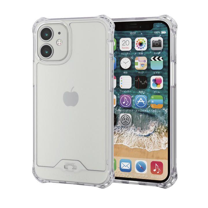 iPhoneケース ゼロショック ZEROSHOCK 耐衝撃 クリア  iPhone 12 mini_0