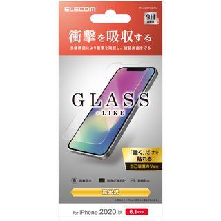 iPhone 12 / iPhone 12 Pro (6.1インチ) フィルム 保護強化ガラス 風 硬度9H 耐衝撃 耐衝撃 iPhone 12/iPhone 12 Pro