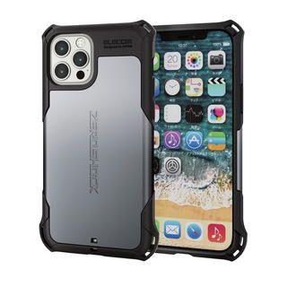 iPhone 12 / iPhone 12 Pro (6.1インチ) ケース iPhoneケース ゼロショック ZEROSHOCK 耐衝撃 TPU シルバー iPhone 12/iPhone 12 Pro