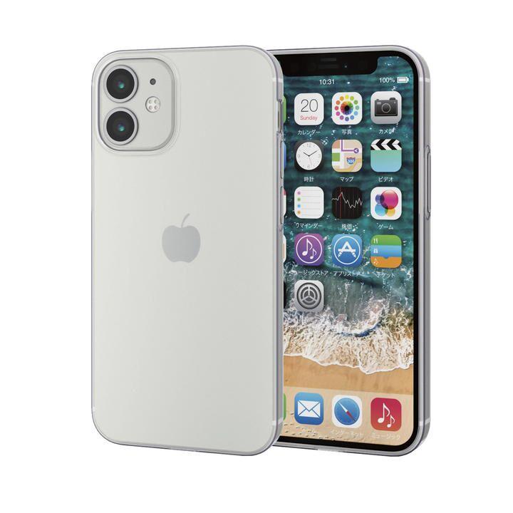 iPhoneケース 耐衝撃 TPU 極薄0.7mm 薄型 クリア iPhone 12 mini_0