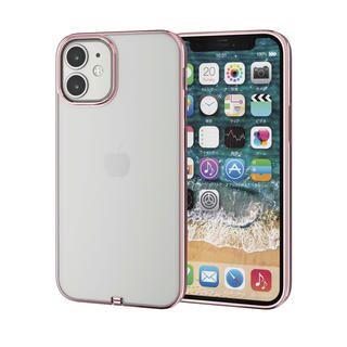 iPhone 12 mini (5.4インチ) ケース iPhoneケース サイドカラー 耐衝撃 TPU 背面 ローズゴールド iPhone 12 mini