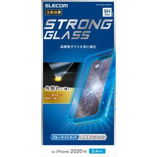 iPhone 12 mini (5.4インチ) フィルム 保護強化ガラス 硬度9H 0.33mm ブルーライトカット 反射防止 角割れに強い iPhone 12 mini