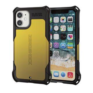 iPhone 12 mini (5.4インチ) ケース iPhoneケース ゼロショック ZEROSHOCK 耐衝撃 TPU イエロー iPhone 12 mini