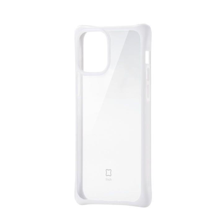 iPhoneケース 耐衝撃 スリム TPU 持ちやすい クリアホワイト iPhone 12/iPhone 12 Pro_0