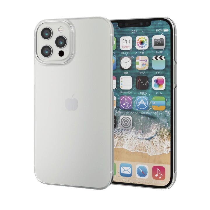iPhoneケース シェルケース ポリカーボネート 薄型 スリム  iPhone 12 Pro Max_0