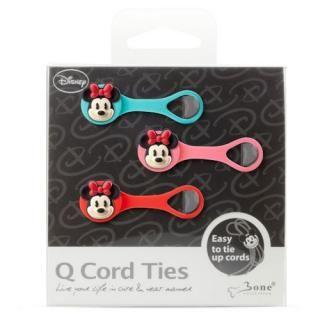 ケーブルキーパー QcodeTie ミニーマウス