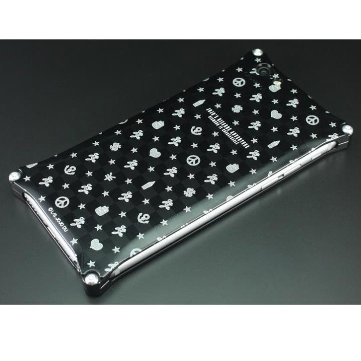 iPhone6s/6 ケース GILDdesign ジョジョの奇妙な冒険ダイヤモンドは砕けない ジュラルミンケース マーク総柄 iPhone 6s/6_0