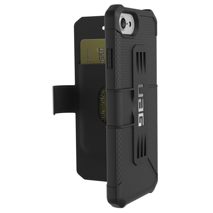 UAG 耐衝撃手帳型ケース Metropolis ブラック iPhone 8/7/6s