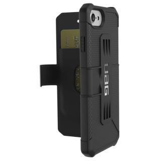 UAG 耐衝撃手帳型ケース Metropolis ブラック iPhone 7/6s