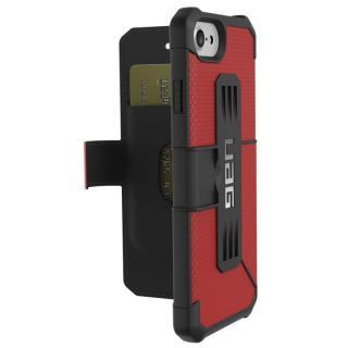 iPhone8/7/6s ケース UAG 耐衝撃手帳型ケース Metropolis マグマ iPhone 8/7/6s