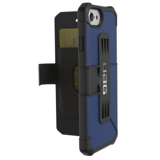 iPhone8/7/6s ケース UAG 耐衝撃手帳型ケース Metropolis コバルト iPhone 8/7/6s
