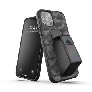 iPhone 12 / iPhone 12 Pro (6.1インチ) ケース adidas SP Grip case CAMO FW20 Black iPhone 12/iPhone 12 Pro