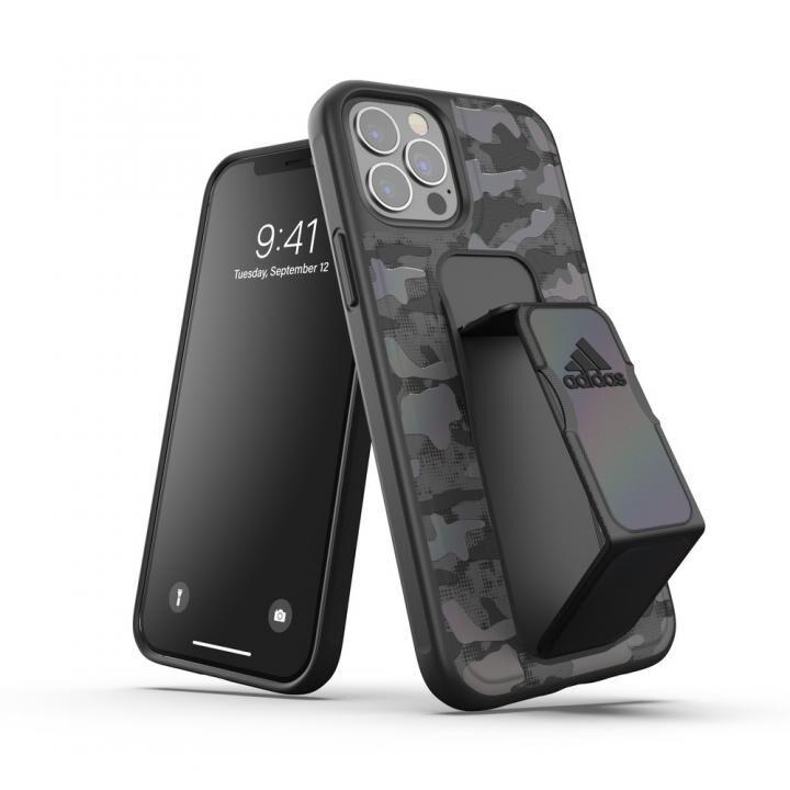 adidas SP Grip case CAMO FW20 Black iPhone 12/iPhone 12 Pro【10月下旬】_0