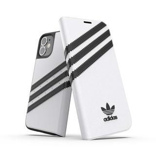 iPhone 12 mini (5.4インチ) ケース adidas Originals Booklet Case SAMBA FW20 White/Black iPhone 12 mini