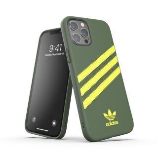 iPhone 12 Pro Max (6.7インチ) ケース adidas Originals SAMBA FW20 Wild Pine/Acid Yellow iPhone 12 Pro Max