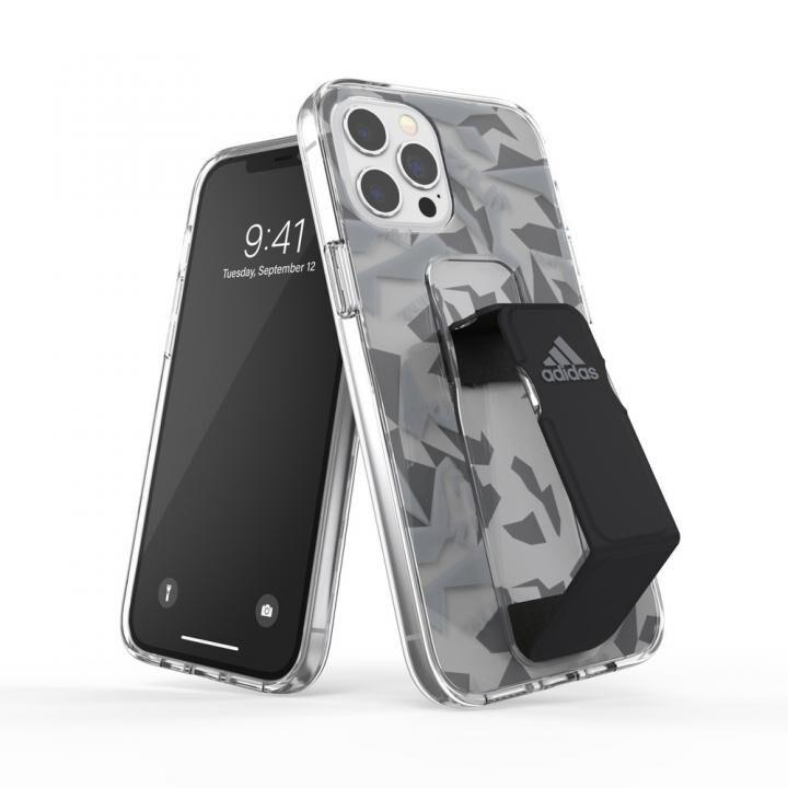 adidas SP Clear Grip Case FW20 Grey/Black iPhone 12 Pro Max_0