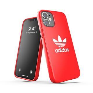 iPhone 12 mini (5.4インチ) ケース adidas Originals Snap Case Trefoil FW20 Scarlet iPhone 12 mini