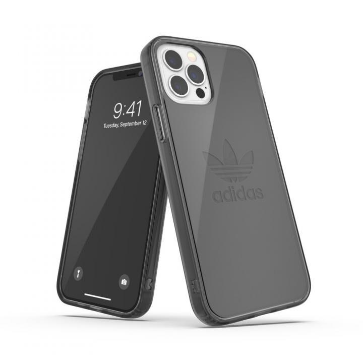 adidas Originals Protective Clear Case FW20 Smokey Black iPhone 12/iPhone 12 Pro_0