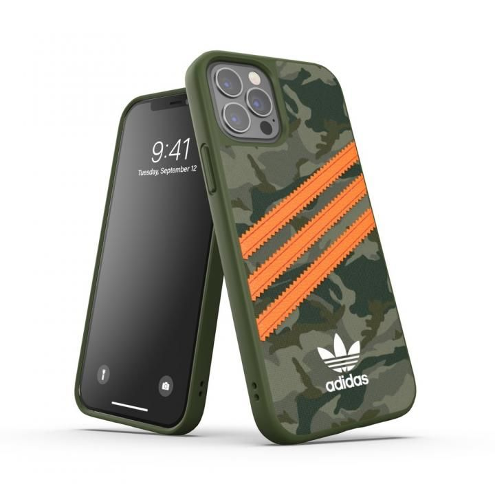 adidas Originals SAMBA FW20 Camo/Orange iPhone 12/iPhone 12 Pro_0