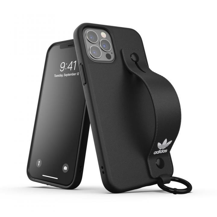 adidas Originals Hand Strap Case FW20 Black iPhone 12/iPhone 12 Pro_0