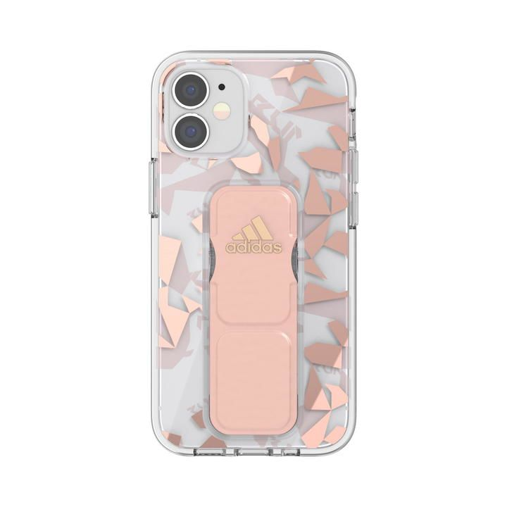 adidas SP Clear Grip Case FW20 Pink Tint iPhone 12 mini_0