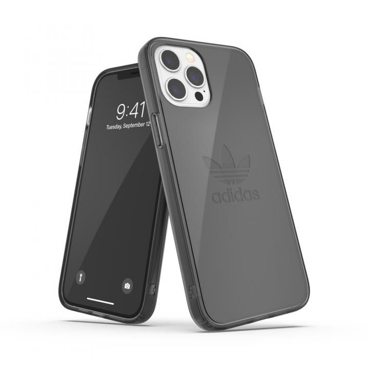 adidas Originals Protective Clear Case FW20 smokey Black iPhone 12 Pro Max_0