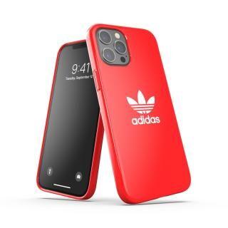 iPhone 12 Pro Max (6.7インチ) ケース adidas Originals Snap Case Trefoil FW20 Scarlet iPhone 12 Pro Max