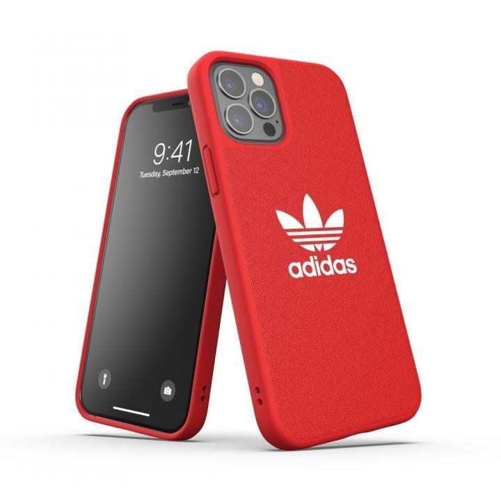 adidas Originals CANVAS FW20 Scarlet iPhone 12/iPhone 12 Pro_0