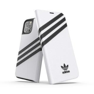 iPhone 12 / iPhone 12 Pro (6.1インチ) ケース adidas Originals Booklet Case SAMBA FW20 White/Black iPhone 12/iPhone 12 Pro