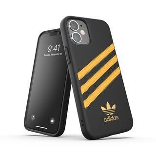 iPhone 12 mini (5.4インチ) ケース adidas Originals SAMBA FW20 Black/Gold iPhone 12 mini