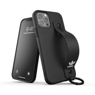 iPhone 12 / iPhone 12 Pro (6.1インチ) ケース adidas Originals Hand Strap Case FW20 Black iPhone 12/iPhone 12 Pro【11月上旬】