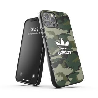 iPhone 12 / iPhone 12 Pro (6.1インチ) ケース adidas Originals Snap Case Graphic AOP FW20 Black/Night Cargo iPhone 12/iPhone 12 Pro